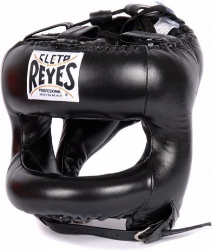 Cleto Reyes Rounded Facebar Headguard - Black